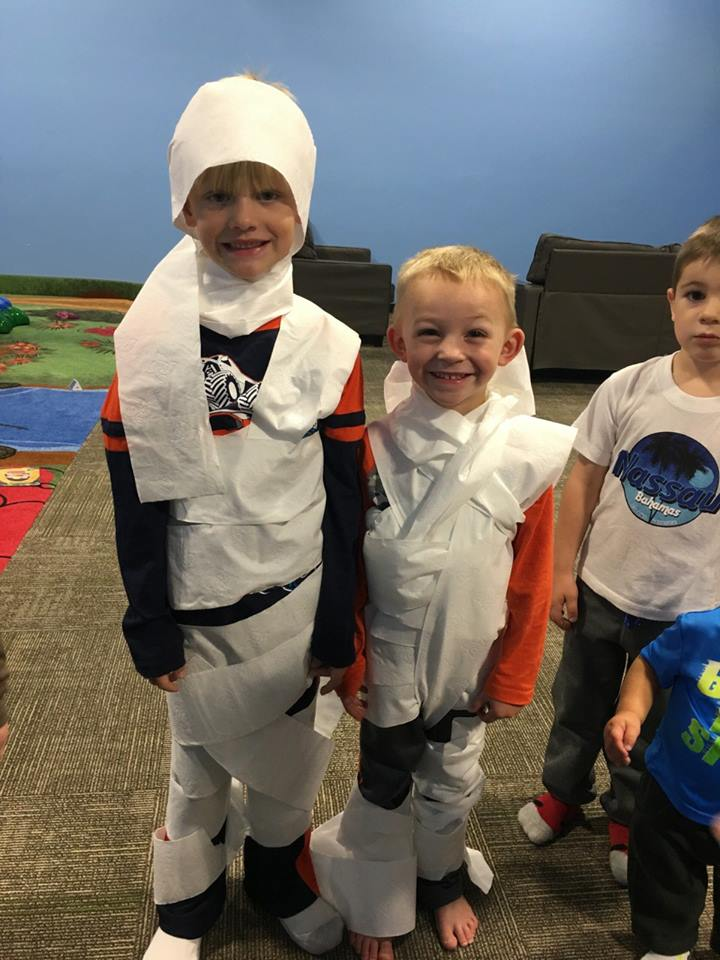 Halloween Mummy Activity 2016