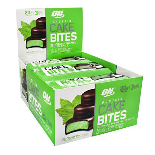 Chocolate Mint Cake Bites