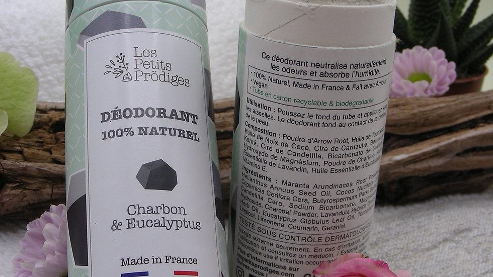 Déodorant Solide Charbon & Eucalyptus