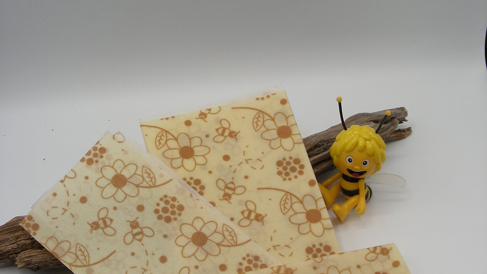 Lot de 3 Bee Wrap