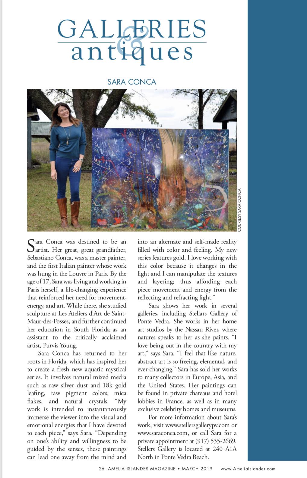 Amelia Islander Magazine Mar 2019