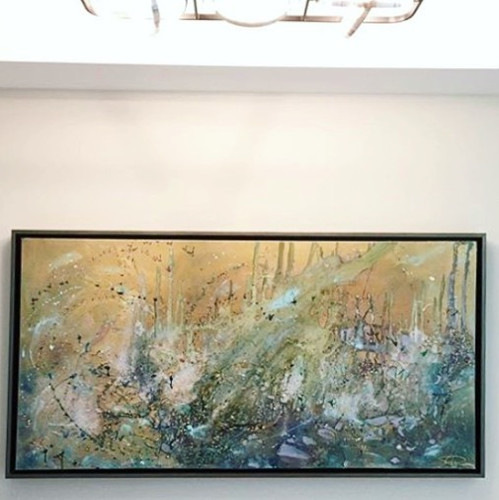 "Ceres 36"" x72"" #repost #sold #contempora"