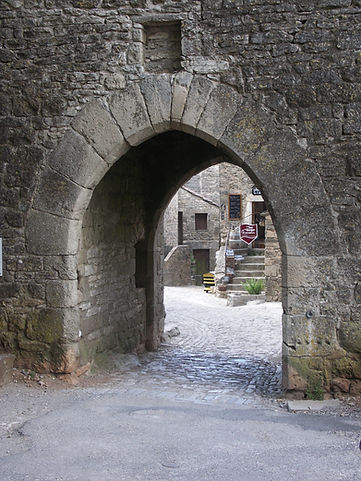 Cité des Templiers-Hospitaliers sur le Larzac dans l'Hérault