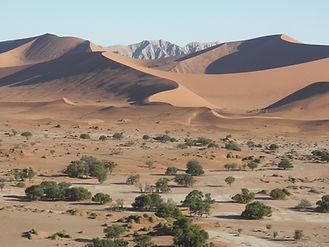 Namibie le site magique de Sossusvlei.