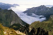 séjour montagne les Pyrénées entre amis.