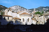 Histoire culture patrimoine abbaye de st Guilhem