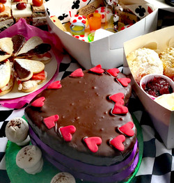 Mad Hatters Afternoon Tea delivery!