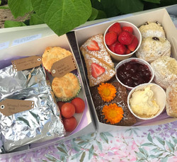 Afternoon Tea/Picnic Boxes