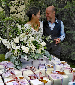 Domini and Pete's lockdown wedding!