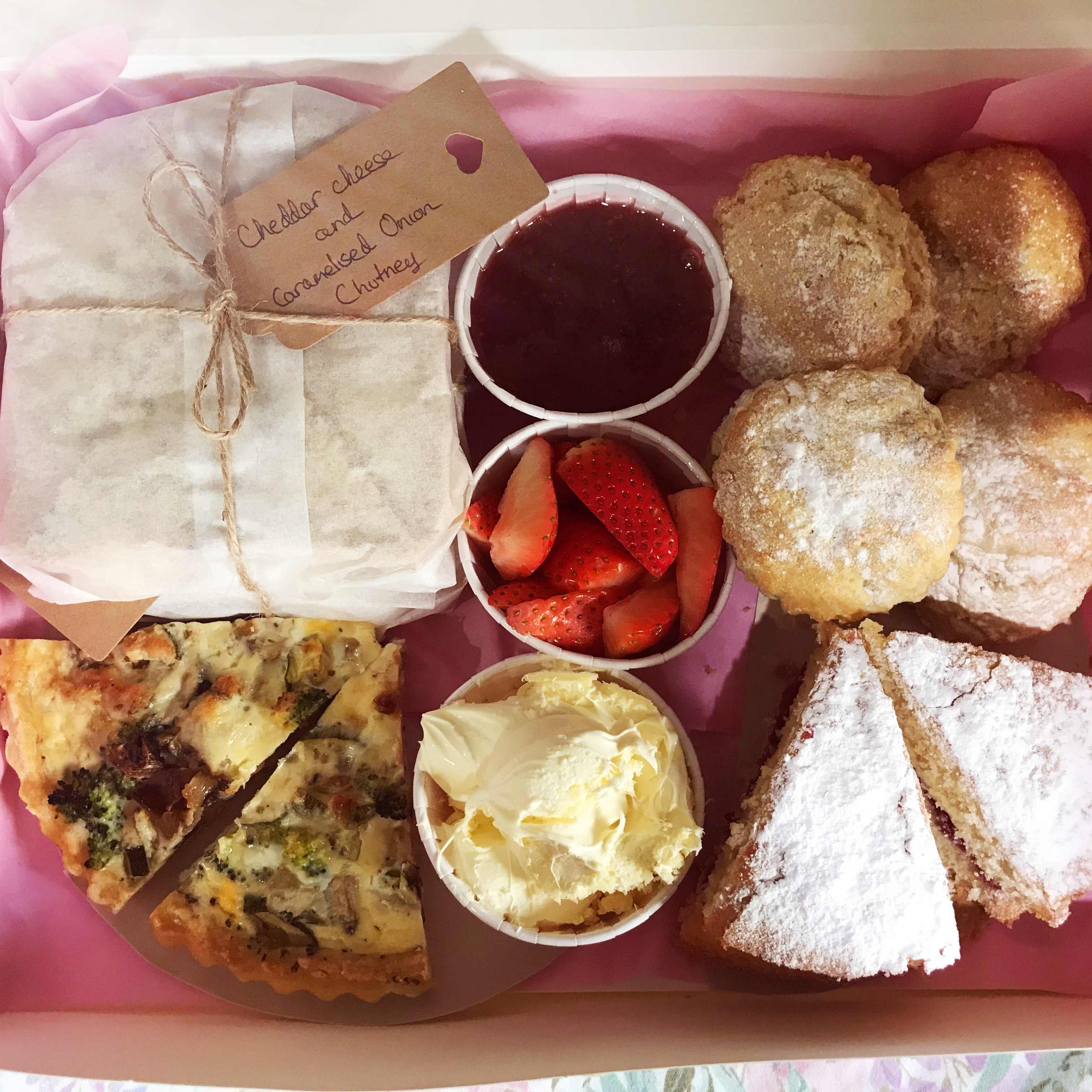Home delivery Afternoon Teas!