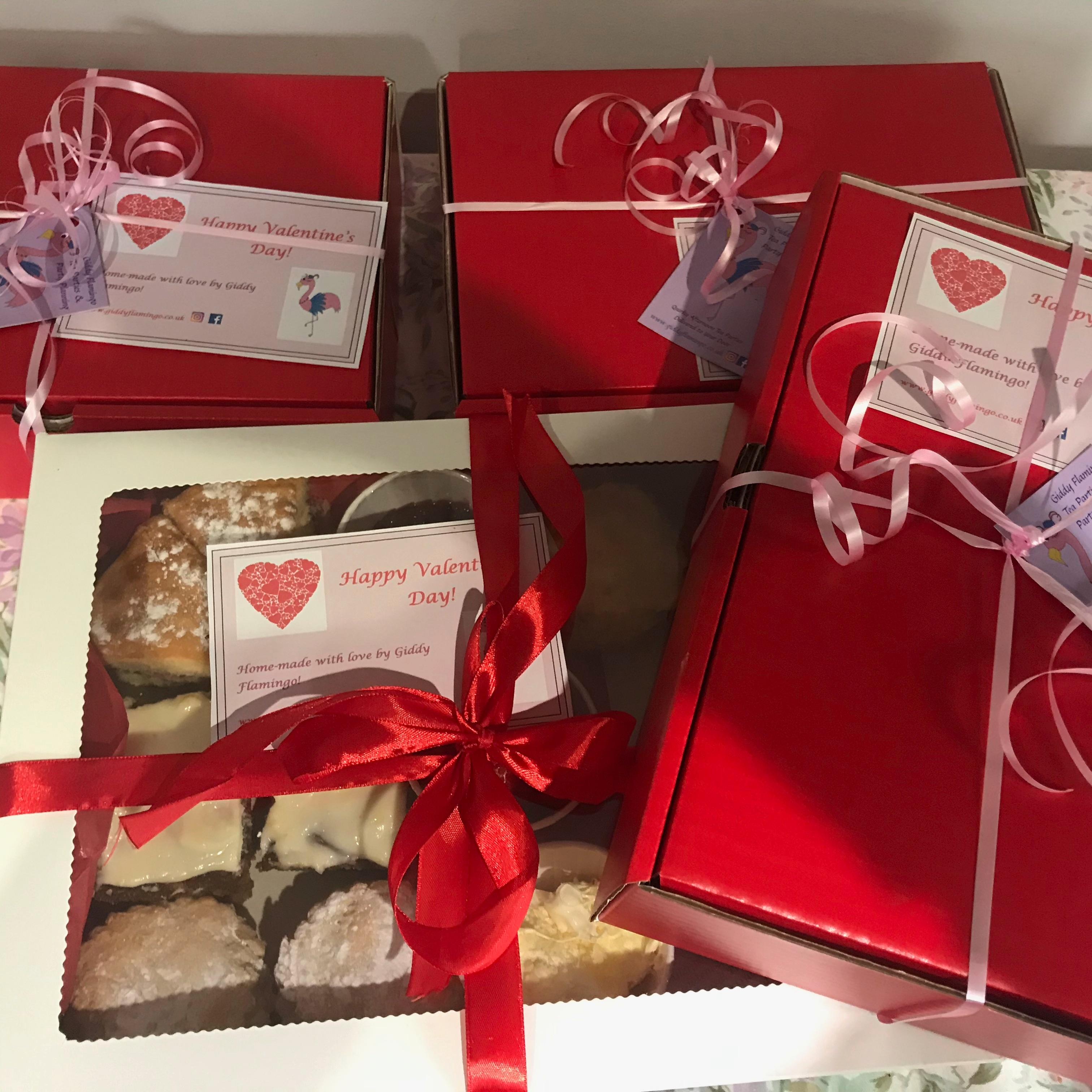 Valentine's Treat Boxes!