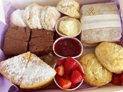 More Afternoon Tea deliciousness awaiting delivery in Bath