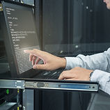 system administrator working in data cen