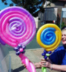 🍭💖💜🍭Lollipop Balloons!🍭💙💛🍭_Some