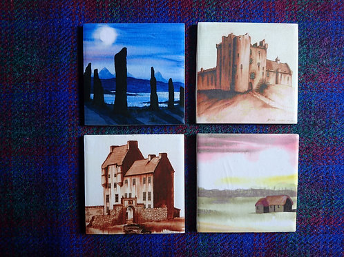 Outlander - Set of 4 of Coasters