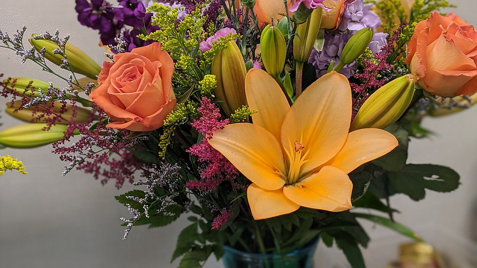 Wild about you bouquet