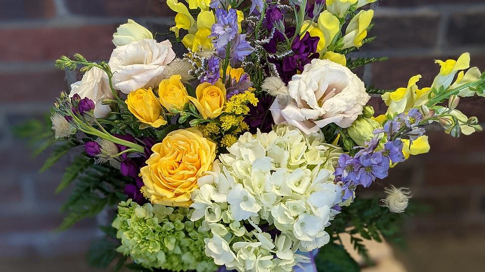 Sunny seaside bouquet