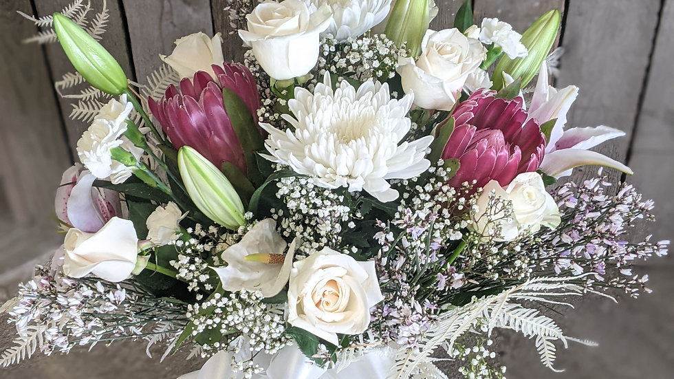 Brilliantly simple bouquet