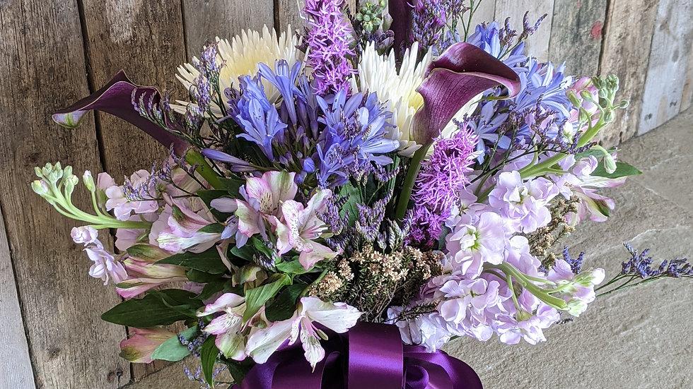 Plum perfection bouquet