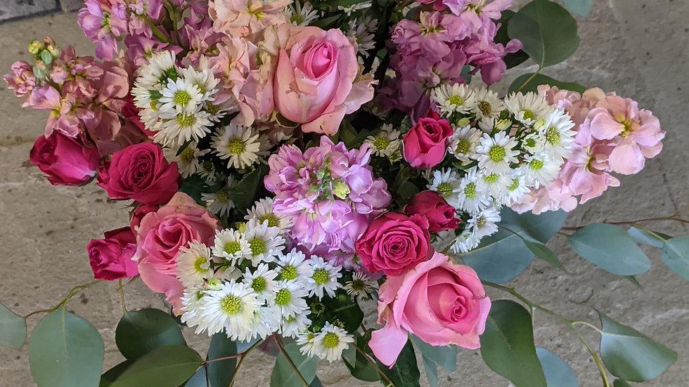 Pretty much pink bouquet