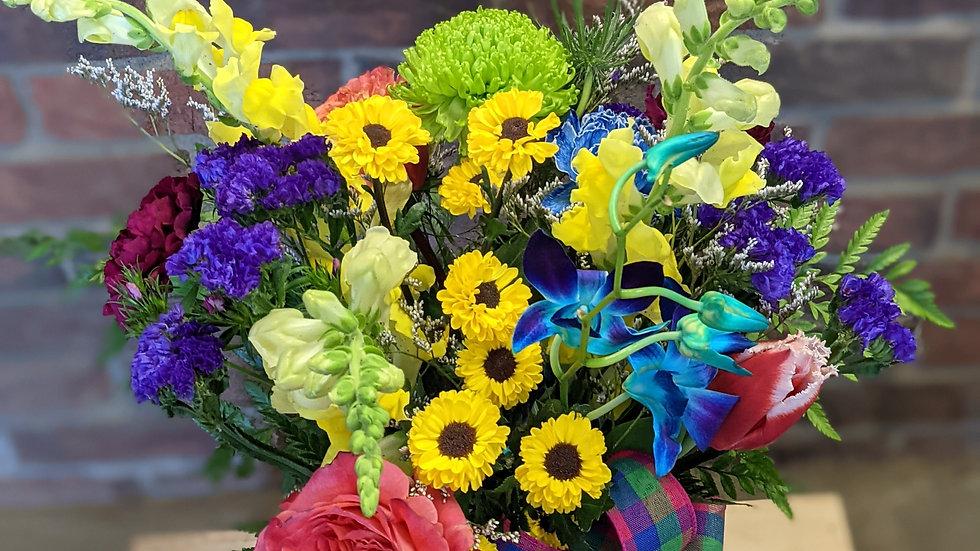 Color carnival bouquet