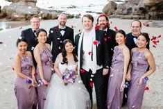 Caves beach wedding, Swansea RSL wedding