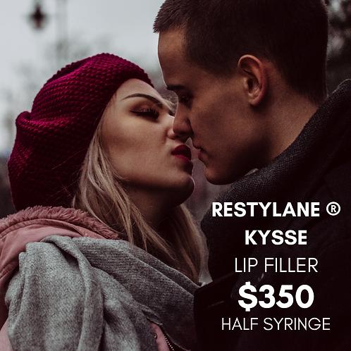 0.5 SYRINGE OF RESTYLANE KYSSE ® LIP FILLER