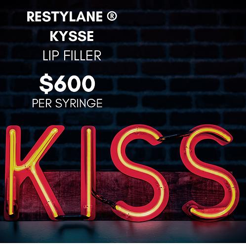 1 SYRINGE OF RESTYLANE KYSSE ® LIP FILLER