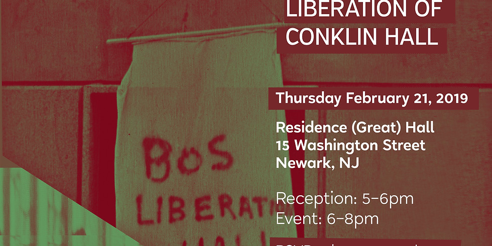 50th Anniversary of the Liberation of Conklin Hall