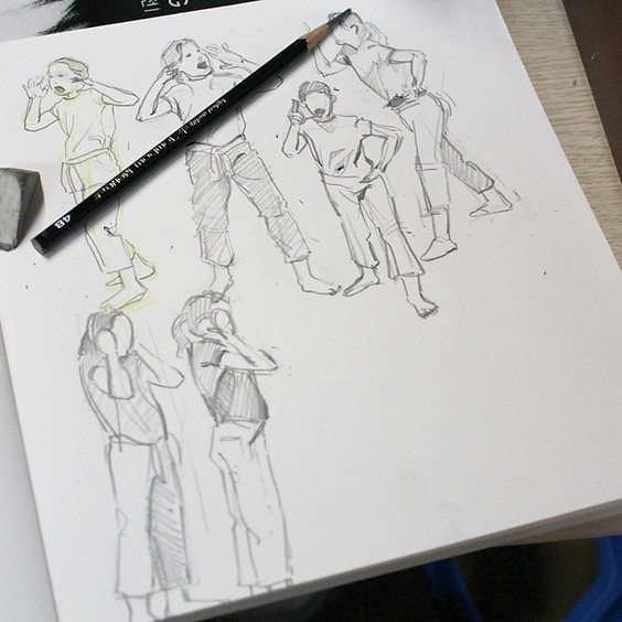 Skills Workshop - Learn to Draw People