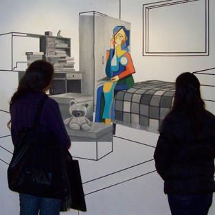 Exposição na Galeria Claudio Carriconte, Universidade Federal de Santa Maria, 2010.