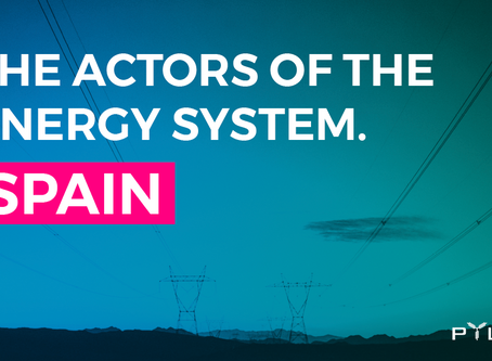 The actors of the Spanish energy system
