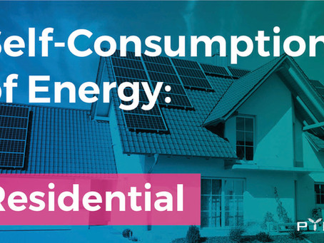 Energy Self-Consumption: Residential