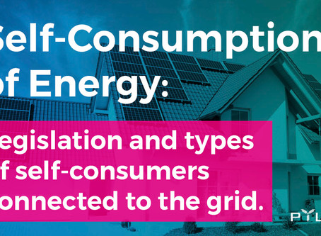 Energy Self-Consumption: Legislation and types of self-consumers connected to the grid