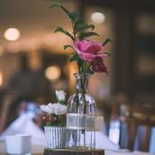 Arranjo para centro de mesa casamento ru