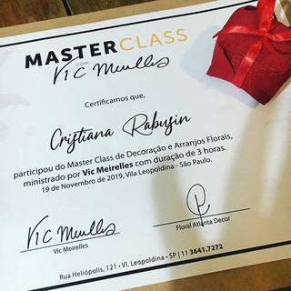 Master class com Vic Mereilles