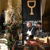 Festa Club de vinho Sociedade da mesa no museu do vinho