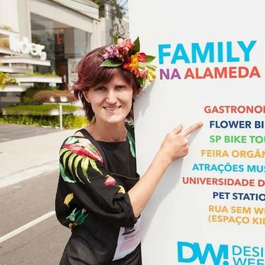 Stand Flowerbike festival design week 2019