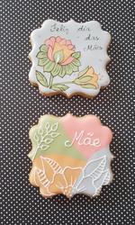 Biscoitos pirulitos festa da mae