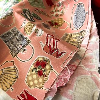 Tecido frances estampa Acessorios femininos