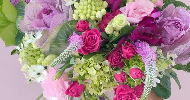 Buquet G de flores de estacao