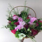Bouquets para festival de tango