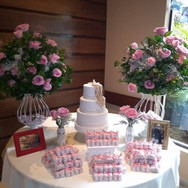 Pacote mesa de bolo para miniwedding rom