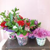 Colecao aviamentos com flores