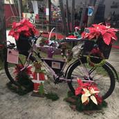 A nossa flowerbike natalina na feira Expocrear a Pouço Alegre