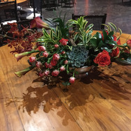 Arranjo para mesa de convidados casament