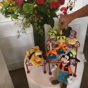 Arranjos Cha de bebe tema Mickey Mouse