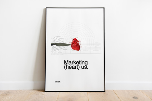 Marketing (heart) Us