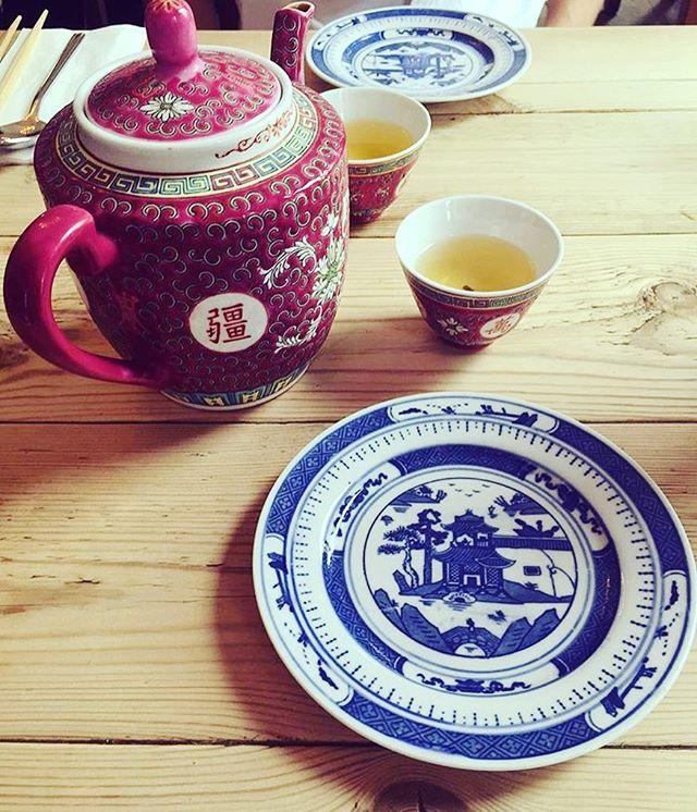 Fancy some tea_ ☕️ #chinese #tea #jasmine #love #instatea #oriental #mingsoriental #bse #bury #burys