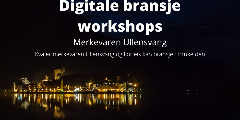 Digitale bransjeworkshops - Handelsnæring